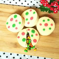 loving creations for you christmas piñata shortbread cookies