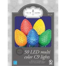 trim a home multicolor c9 lights kmart
