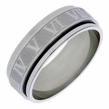 the numbers wedding band 15 photo of men s spinner wedding bands