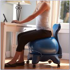 Office Desk Workout by Furnitures Contemporary Gaiam Balance Ball Chair For Modern Home