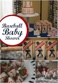 baseball baby shower ideas a boy s baseball themed baby shower spaceships and laser beams