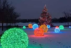 outdoor led christmas lights led christmas lights botanical garden higher ground landscaping
