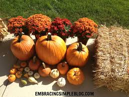 Decorating Your Home For Fall 5 Easy And Inexpensive Fall Decor Ideas Embracing Simple