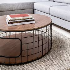 wireframe coffee table by gus modern