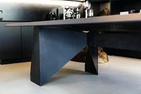 bureau design noir laqué bureau design noir douman pour labor pn t 002 03 bureau design
