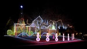 catchy collections of christmas light show with music catchy