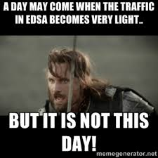 Traffic Meme - traffic sa edsa memes of traffic armageddon on edsa when in