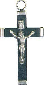 wood crucifix small black wood crucifix small wood cross 2 x 1 25 45