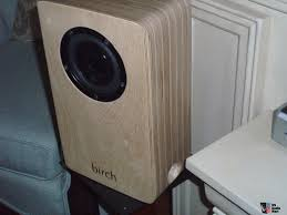 birch acoustics finch single driver speaker amazing coherence in