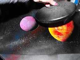 How To Spray Paint Rubber How To Paint An Amazing Space Scene