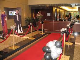 interior design cool red carpet theme party decorations home