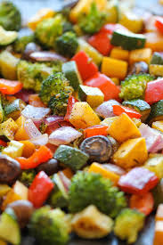 How To Roast Garlic In Toaster Oven Roasted Vegetables Damn Delicious