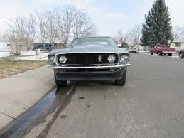 1969 mustang rear 1969 mustang coupe grey 347 stroker v8 9 rear loud
