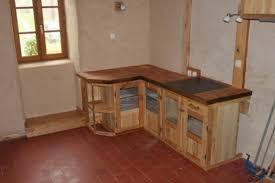 meuble de cuisine en palette bar interieur en palette avec ilot cuisine a faire soi meme 3