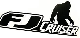 toyota car logo product toyota fj cruiser 4x4 off road car vinyl decal sticker