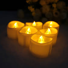 fake tea light candles liander flameless candles flickering timing warm yellow led tea