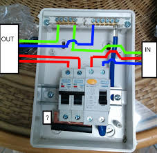 wiring up shed consumer unit and diagram gooddy org