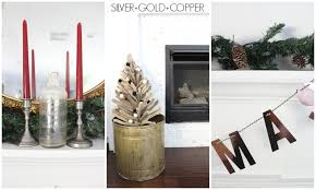 Silver Metal Christmas Decorations by Mixed Metal Christmas Decorations Dream Book Design