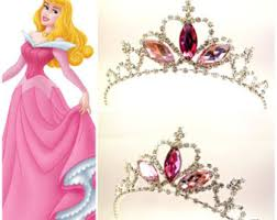 princess aurora sparkle tiara sleeping beauty crown