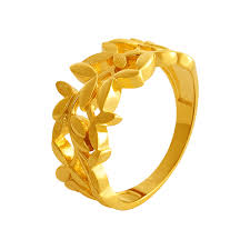 rings online gold images 10kt yellow gold ring gold rings online for women p c chandra png
