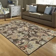 Paisley Area Rugs Better Homes And Gardens Brown Paisley Berber Printed Area Rugs Or