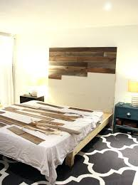 Diy Upholstered Headboard Articles With Diy Upholstered Headboard Wall Mounted Label