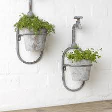Wall Planters Indoor by Indoor Wall Planters Large 4 Pockets Hanging Flower Pot Polyester