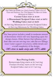 frame pricing png 486 710 cake pinterest cake