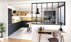 cuisine style atelier industriel cuisine avec verriare intacrieure 6 exemples racussis catac maison 6