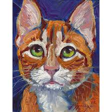 themed paintings irresistible cat themed modern cat
