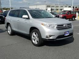 toyota highlander 2012 used used 2012 toyota highlander for sale carmax