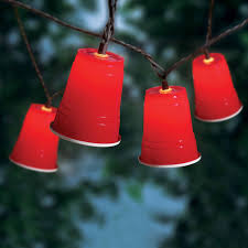 mainstays red cup string lights 10 count walmart com