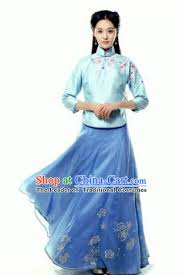 traditional ancient chinese costume cheongsam blouse chinese late