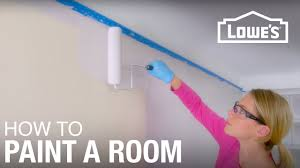 painting room how to paint a room basic painting tips youtube