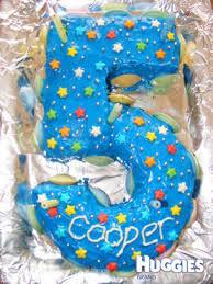 Number 5 Huggies Birthday Cake Gallery Huggies