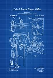 cartoon making patent 1917 patent print wall decor movie