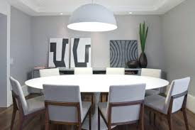 dining room table lamps dining chairs ultra modern round dining table white chairs room