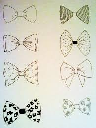 bow tie drawings bow tattoos pinterest drawings doodles