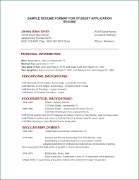 Resume Samples For College Students by 7 Cv Samples For College Students Applicationsformat Info