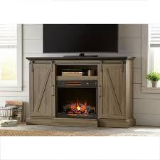 Fireplace Screen Doors Home Depot by Home Decorators Collection Chestnut Hill 56 In Tv Stand Electric