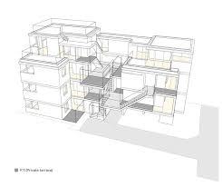 apartment in nishiazabu by salhaus has 10 private dwellings