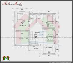 two bedroom home plans house plans below 1000 sq ft kerala fresh east facing two bedroom