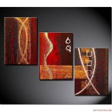 abstract handmade painting modern contemporary acrylic painting ideas abstract paintings 3pcs canvas set modern