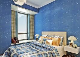 chambre peinte en bleu papier peint de chambre à coucher d enfants en ventes qualité