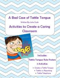 Freebie Julia Cook S Bad Case Of Tattle Tongue Text To Self Tattle Tongue Coloring Page
