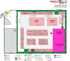 exhibition floor plan machtex floor plan