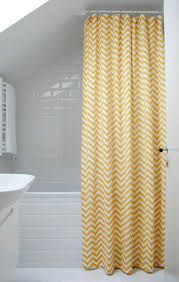 Yellow White Chevron Curtains 17 Best Extra Long Shower Curtain Images On Pinterest Long