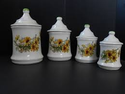 sunflower kitchen canisters sunflower canister set kitchen canisters kitchen canisters