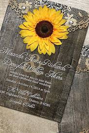 Sunflower Wedding Programs 25 Best Sunflower Wedding Invitations Ideas On Pinterest