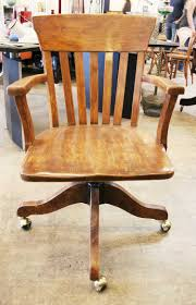 Wooden Office Chairs With Casters Marvellous Interior On Office Chair Wooden 8 Office Chair Wood